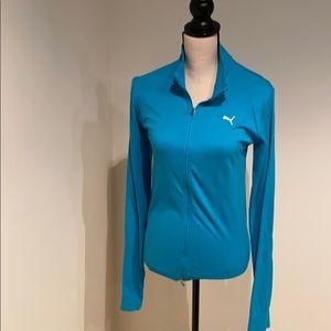 Athletic full zip top